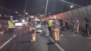 Haliç Köprüsü'nde feci kaza!