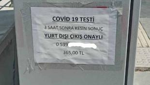 Koronavirüs testleri karaborsaya düştü!
