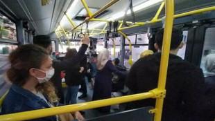 Toplu taşıma kullananlar dikkat! Cama sakın dokunmayın