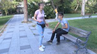 İstanbul'da dehşet! Erkek arkadaşını sokak ortasında bıçakladı!