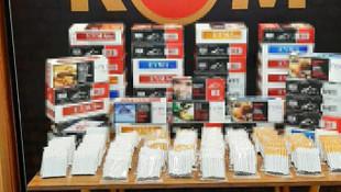 Çanakkale'de 15 bin kaçak sarma sigara ele geçirildi