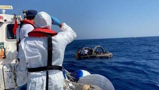 Muğla'da Türk kara sularına itilen 54 sığınmacı kurtarıldı