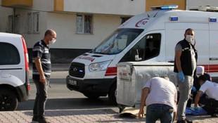 Kayseri'de çöp konteyneri yanında bebek cesedi bulundu!