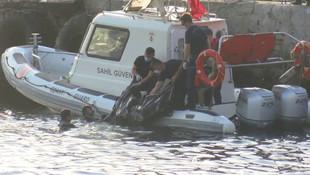 Eminönü'nde denizde ceset bulundu