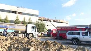 Ankara'da mobilya fabrikasında patlama!