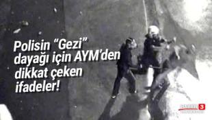 AYM'den Gezi Parkı dayağı için dikkat çeken karar!