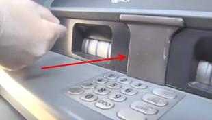 Eğer ATM'de bunu görürseniz sakın şifrenizi girmeyin!