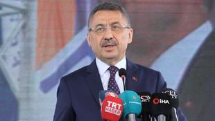 Cumhurbaşkanı Yardımcısı Oktay'dan ABD'ye ambargo tepkisi