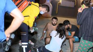 İstanbul'da gasp dehşeti! Polisi de bıçakladı