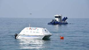 İşte insansız deniz temizleme aracının Kadıköy karnesi