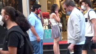 İstiklal Caddesi'nde genç kadına güpegündüz taciz!