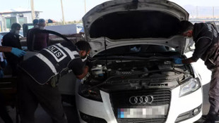 Emekli polisin aracından 61 kilogram eroin çıktı!