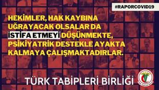 Türk Tabipleri Birliği'nden korkutan Covid-19 raporu: Salgın yönetilemiyor, fırtına kapıda