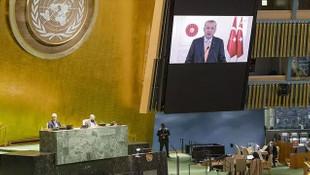 BM'de Erdoğan'ın konuşması sırasında İsrail Büyükelçisi'ne salonu terk etti