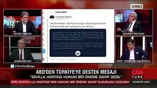 Mehmet Metiner canlı yayında donup kaldı