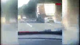 İstanbul'da hafriyat kamyonu terörü! 120 km hızla makas attı