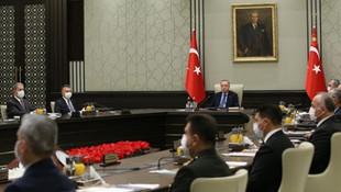 Kritik MGK'dan Doğu Akdeniz açıklaması