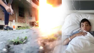 Cam kavanozda patlatılan torpil hayatını kararttı
