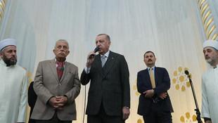 Erdoğan cami hoparlöründen seslendi: Allah'ın ipine sarılın