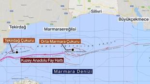 Marmara Denizi'nden geçen fay hattı için korkutan açıklama