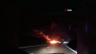 Ukrayna'da askeri uçak düştü, 20 ölü var!
