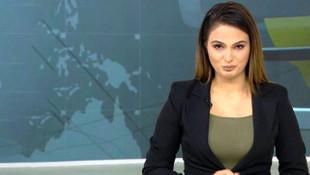 Azeri spiker müjdeyi verirken gözyaşlarını tutamadı