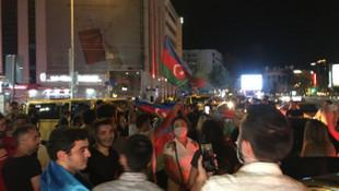 İstanbul, Azerbaycan'a destek için uyumadı!
