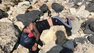İstanbul'da dehşet! Genç kadını dövüp kayalıklara attılar