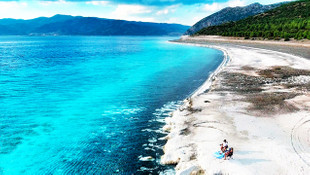 Salda Gölü'nün ''Beyaz Adalar'' bölgesine giriş yasaklandı