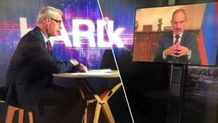 Ermenistan Başbakanı'nın canlı yayındaki zor anları