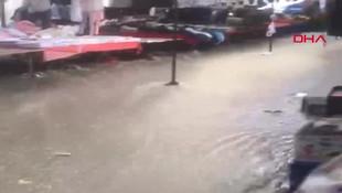 Meteoroloji uyarmıştı; İstanbul'u dolu vurdu! O anlar kamerada...