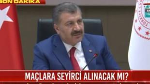 Bakan Koca Erdoğan'ın mitingi sorulunca bakın ne yanıt verdi