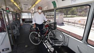 Türkiye'de bir ilk! Bisiklet tramvayı raylarda