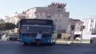 Şoför otobüse maskesiz almayınca öyle bir şey yaptı ki..
