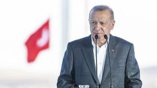 Cumhurbaşkanı Erdoğan'dan akıllı otoyol paylaşımı