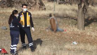 Ağaca asılı erkek cesedi bulundu