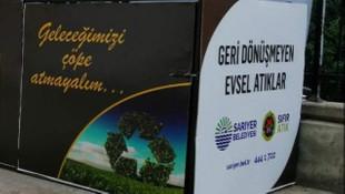 Çevreci Sarıyer Belediyesi'ne sıfır atık belgesi