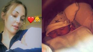 Meryem Uzerli bebeğinin fotoğrafını paylaştı