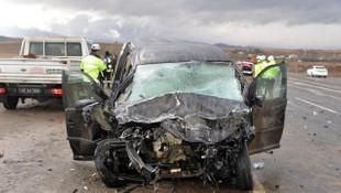 Bingöl'de feci kaza: 1 ölü, 2 yaralı