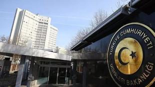 Dışişleri Bakanlığı'ndan sert tepki: Terör propagandasına son verin