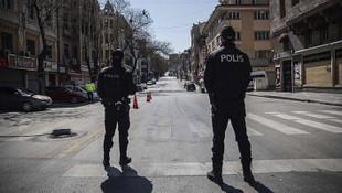 56 saatlik sokağa çıkma yasağı başladı