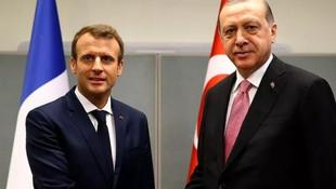 Macron'dan Cumhurbaşkanı Erdoğan'a mektup: ''Değerli Tayyip...''