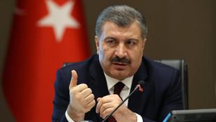 Bakan Koca'dan HDP'ye de teşekkür
