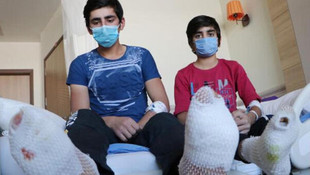 Erzincan'da korkunç olay! Ayak tabanları patladı, toprağa gömdüler
