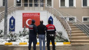 Ankara'da hırsızı sigara izmariti ele verdi