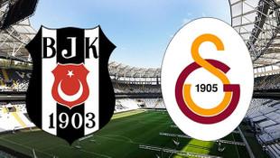 Beşiktaş Galatasaray maçının ilk 11'leri belli oldu