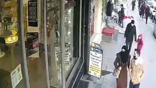 Çocuk kaçırma girişimi saniye saniye kaydedildi