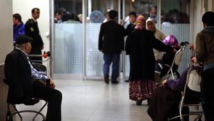 GSS borçlusu vatandaş hastane kapısından döndü