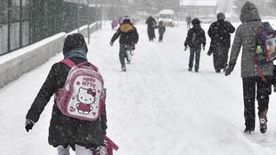 Elazığ'da yüz yüze eğitime kar engeli