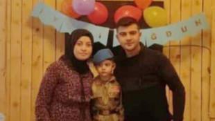 Bir aile yok oldu! Uzman çavuş, eşi ve oğlundan acı haber